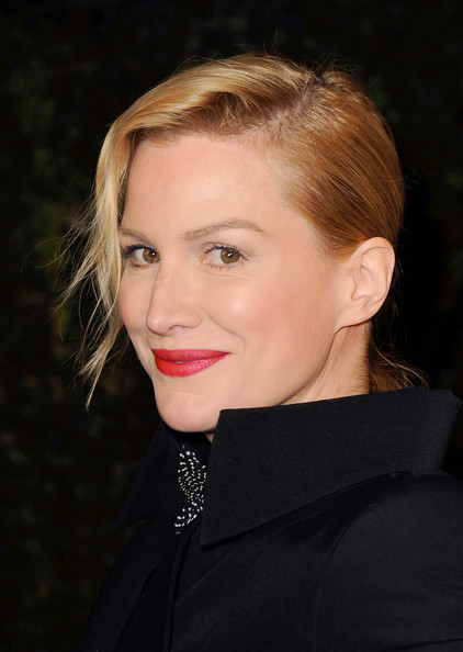 Alice Evans Red Lipstick