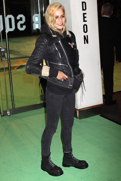 More Pics of Alice Dellal Combat Boots (1 of 2) - Alice Dellal Lookbook - StyleBistro