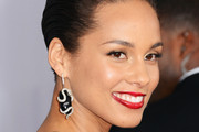 Alicia Keys Dangling Diamond Earrings
