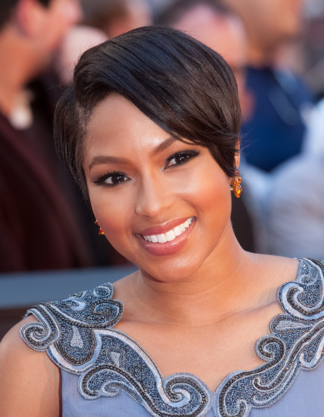 Alicia Quarles Wedge [world war z,hair,face,eyebrow,hairstyle,facial expression,beauty,chin,smile,skin,lip,alicia quarles,arrivals,new york,new york premiere]