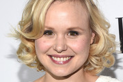 Alison Pill Curled Out Bob