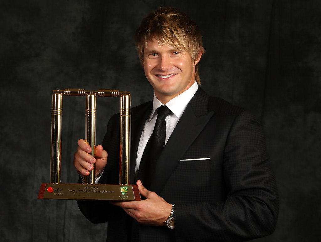 Allan Border Medal: More Pics Of Shane Watson Emo Bangs (12 Of 17)