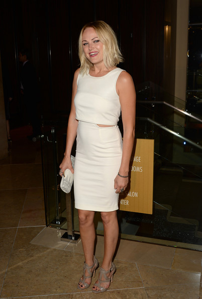 More Pics of Malin Akerman Leather Clutch (1 of 13) - Malin Akerman Lookbook - StyleBistro