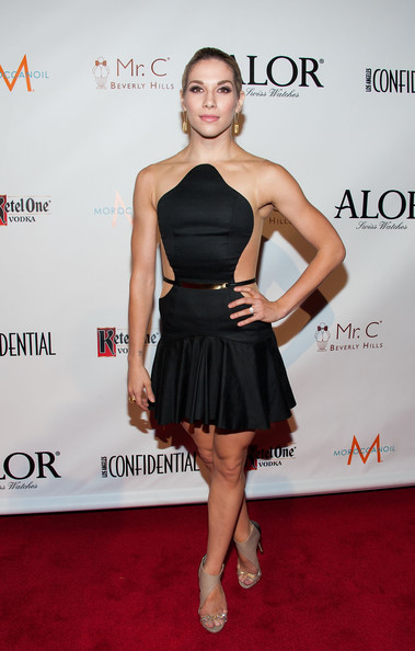 Allison Holker Little Black Dress