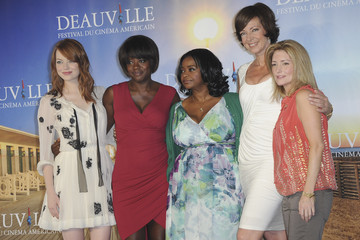 Allison Janney Emma Stone 'The Help' Photocall - 37th Deauville Film Festival