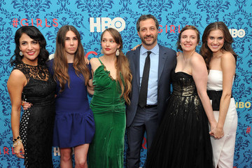 "Allison Williams Jemima Kirke HBO With The Cinema Society Host The New York Premiere Of HBO's ""Girls"""