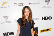 Alycia Debnam-Carey Mini Dress