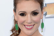 Alyssa Milano Smoky Eyes