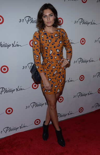 Alyssa Miller Print Dress