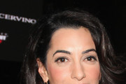 Amal Clooney Gold Chandelier Earrings