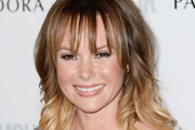 Amanda Holden Long Wavy Cut with Bangs