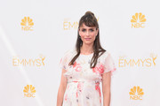 Amanda Peet Maternity Dress
