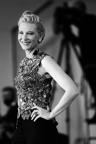 More Pics of Cate Blanchett Fitted Blouse (1 of 66) - Cate Blanchett Lookbook - StyleBistro [photograph,editors note,image,movie,hair,white,black,photograph,black-and-white,monochrome photography,monochrome,beauty,fashion,shoulder,cate blanchett,hair,amants red carpet,red carpet,photography,77th venice film festival,photograph,black and white,photo shoot,portrait photography,portrait -m-,human hair color,photography,haute couture,long hair,portrait]
