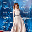 Emma Stone in Prada at the 'Amazing Spider-Man 2' Premiere in NYC