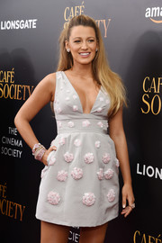 Blake Lively got all blinged up with a ton of bracelets for the New York premiere of 'Cafe Society.'