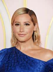 Ashley Tisdale sported wet-look hair at the Amazon Prime Video post-Emmy party.
