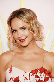 Arielle Kebbel looked darling with her short curly 'do at the Amazon Prime Video Emmys after-party.