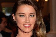 Amber Heard Long Side Part