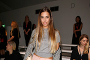 Amber Le Bon Tweed Coat