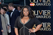 Amber Riley Mermaid Gown