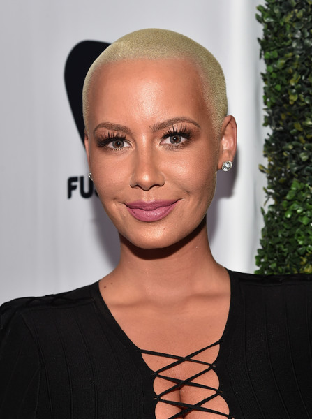 Amber Rose Buzzcut [red carpet,hair,face,eyebrow,hairstyle,lip,forehead,beauty,skin,chin,cheek,amber rose,def movie awards,all def movie awards,tv personality,hollywood,california,lure nightclub]