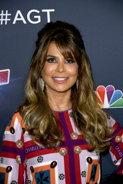 More Pics of Paula Abdul Half Up Half Down (1 of 15) - Paula Abdul Lookbook - StyleBistro