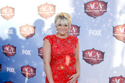 Recording artist Lauren Alaina arrives at the 2013 American Country Awards at the Mandalay Bay Events Center on December 10, 2013 in Las Vegas, Nevada.