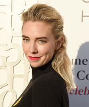 Vanessa Kirby wore her hair in a half-up style at the American Friends of Covent Garden 50th anniversary celebration.