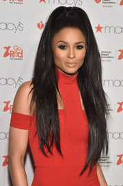 Ciara's ultra-long high ponytail totally stole the show during the American Heart Association Go Red for Women event.