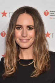 Louise Roe rocked bedhead at the American Heart Association Go Red for Women event.