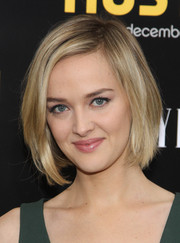 Jess Weixler looked cute and classic with her bob at the 'American Hustle' premiere in NYC.
