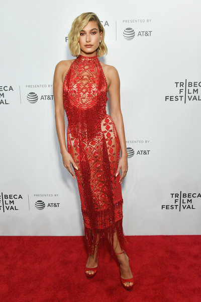 In Zuhair Murad Couture At The Tribeca Film Festival, 2018