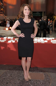 Tina Fey is another fan of the little black dress. But then again, aren't we all? Tina keeps it sleek and chic in this little black dress at the American Museum of Natural History Gala. The comedian and actress paired this simple look with nude pumps.