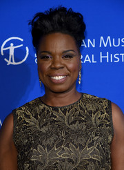 Leslie Jones styled her short hair into a towering fauxhawk for the American Museum of Natural History's 2017 Museum Gala.