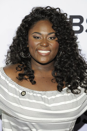 Danielle Brooks looked fabulous with her tight curls at the Tony Awards Meet the Nominees press junket.