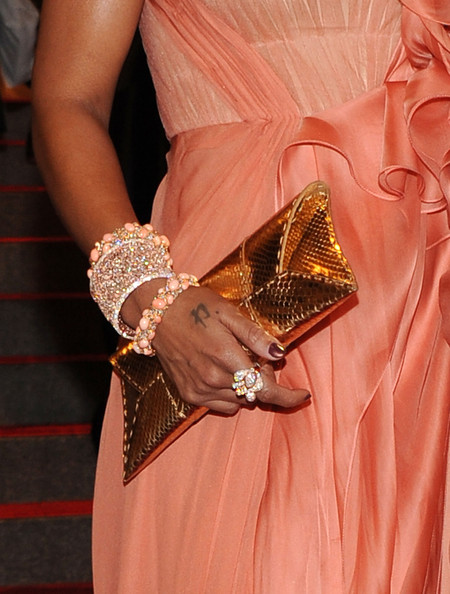More Pics of Mary J. Blige Evening Dress (1 of 10) - Dresses & Skirts Lookbook - StyleBistro [american woman: fashioning a national identity,clothing,peach,lady,fashion,orange,haute couture,dress,close-up,fashion accessory,jewellery,mary j. blige,arrivals,costume institute gala benefit,metropolitan museum of art,new york city,met gala,opening,exhibition]