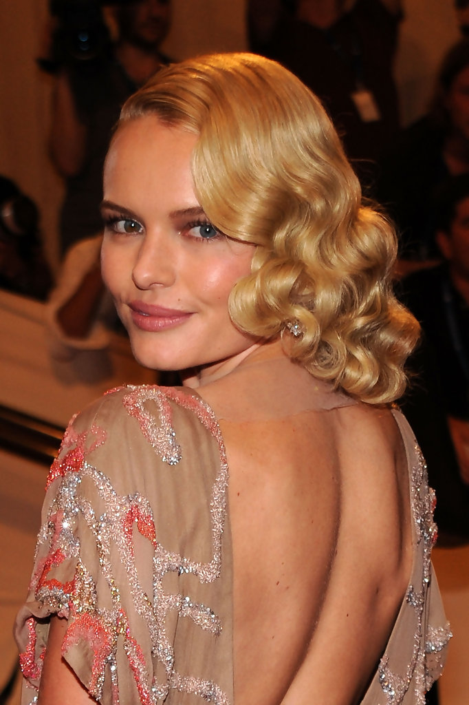 "Actress Kate Bosworth attends the Costume Institute Gala Benefit to celebrate the opening of the ""American Woman: Fashioning a National Identity"" exhibition at The Metropolitan Museum of Art on May 3, 2010 in New York City."
