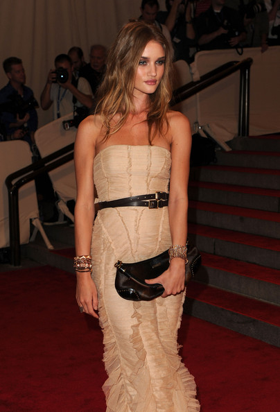 More Pics of Rosie Huntington-Whiteley Diamond Bracelet (1 of 6) - Rosie Huntington-Whiteley Lookbook - StyleBistro