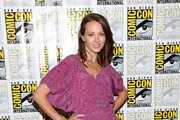 Amy Acker Print Dress