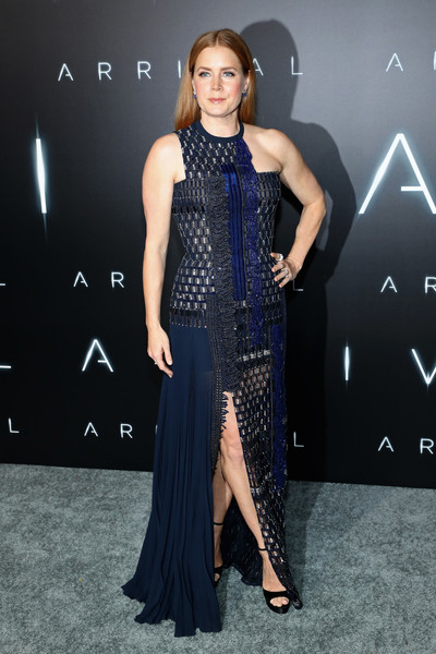 Amy Adams Beaded Dress