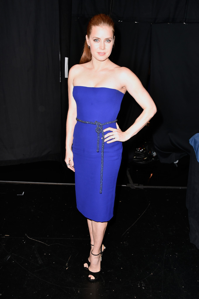 Amy Adams Strapless Dress Amy Adams Clothes Looks