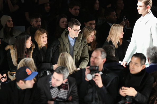 Lacoste - Front Row - Fall 2013 Mercedes-Benz Fashion Week