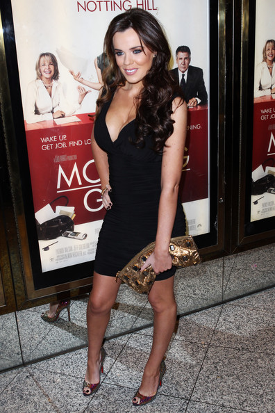 Amy Childs Metallic Clutch