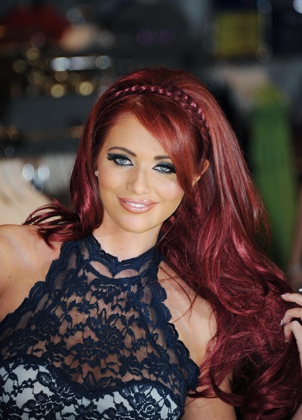 More Pics of Amy Childs Long Wavy Cut (1 of 17) - Long Wavy Cut Lookbook - StyleBistro