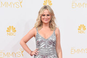 Amy Poehler Beaded Dress