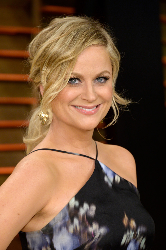 Amy Poehler Loose Ponytail Amy Poehler Hair Looks