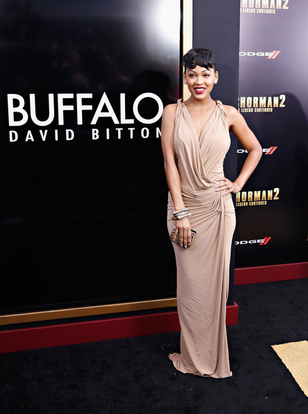 Meagan Good Anchorman 2 Hair