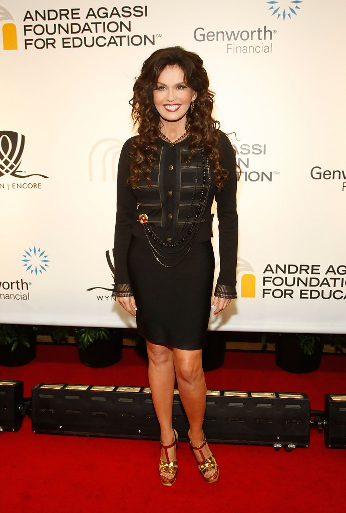 More Pics of Marie Osmond Strappy Sandals (1 of 4) - Marie Osmond ...