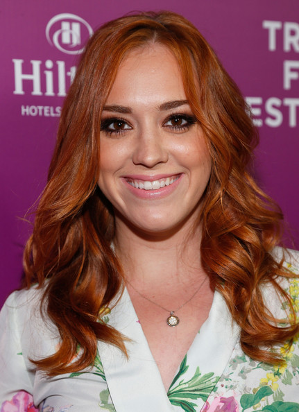Andrea Bowen Long Curls