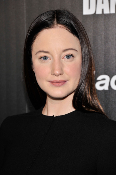 Andrea Riseborough Hair